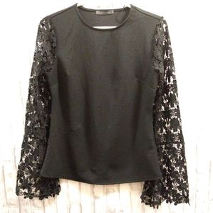 Suzy Lace Sleeve Top
